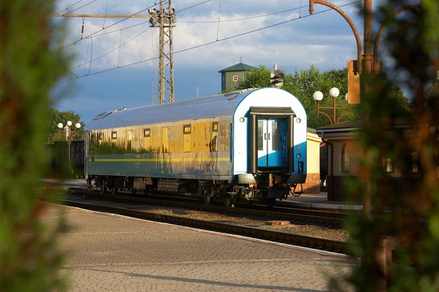 Вагон пассажирский для международного сообщения габарита «RIC» мод. 61-7034