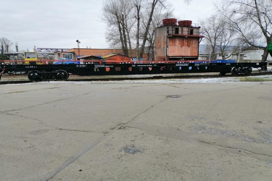 Вагон-платформа модель 13-7132