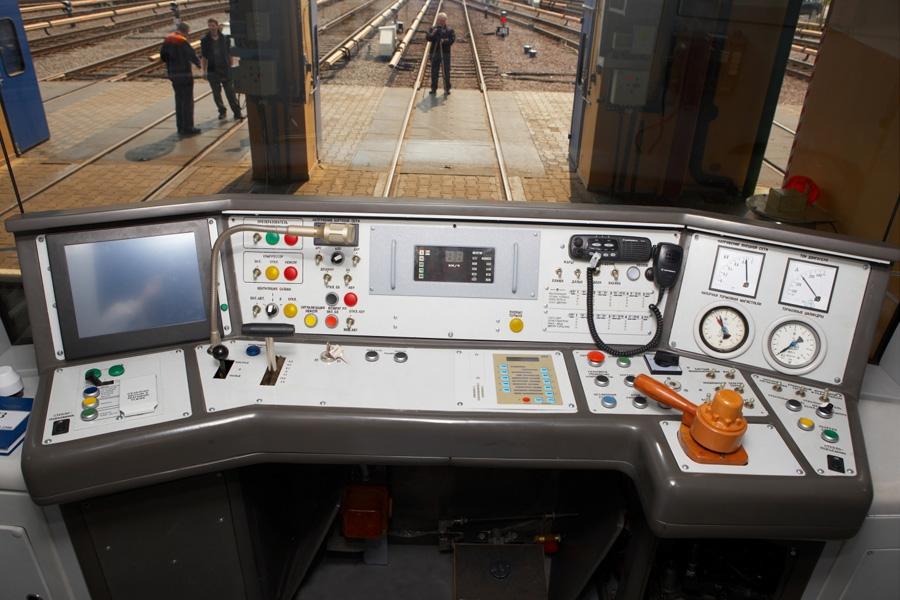Головной вагон метро мод. 81-7021