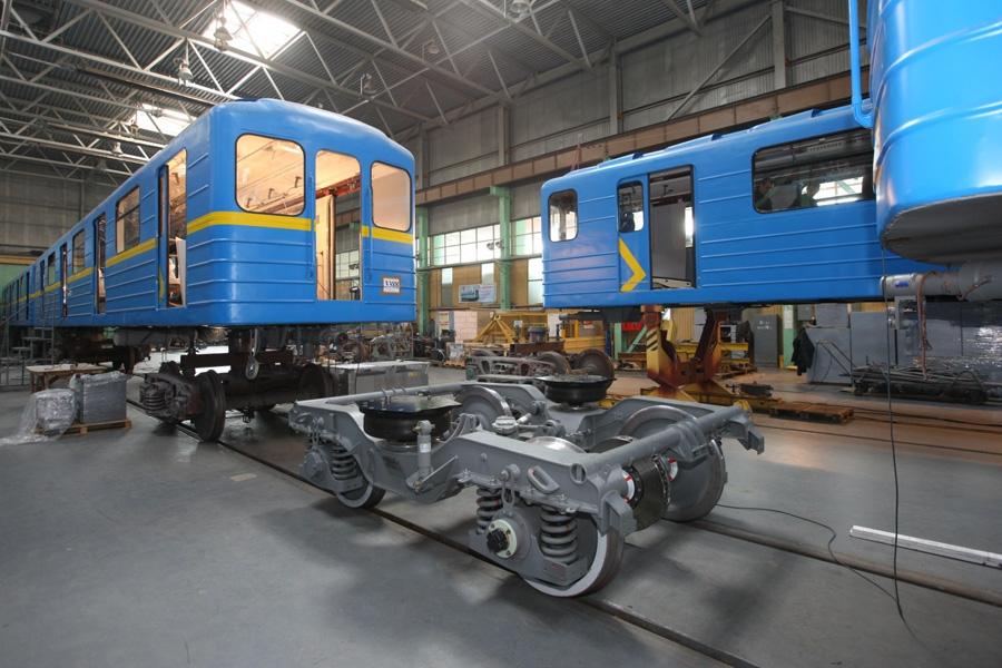 Тележка мод. 68-7054 для вагонов метрополитена