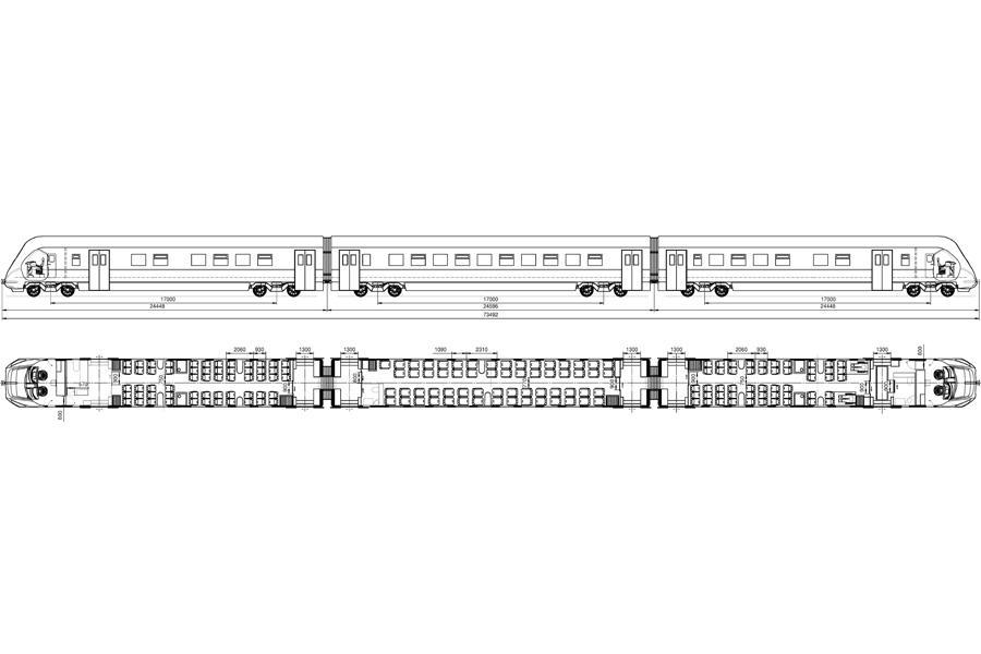 Пасажирський дизель-поїзд ДПКр-3
