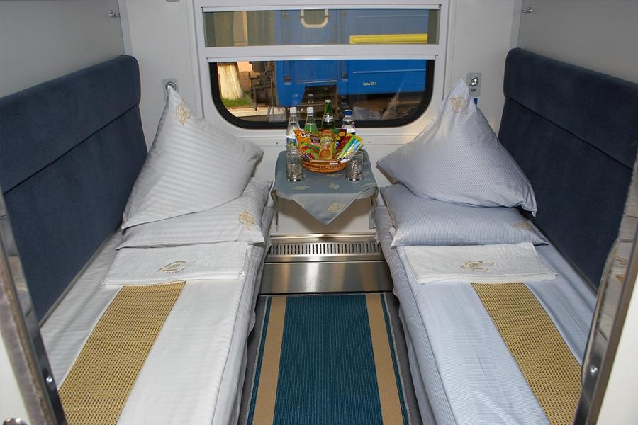 Вагон пассажирский купейный спальный модель 61-779А