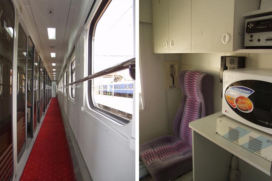 Вагон пасажирський купейний з місцями для сидіння та багажним відділенням мод. 61-779Г