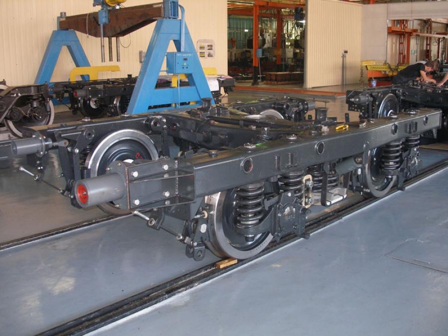 Metro car bogie mod.68-797 (Type 1 and Type 2)