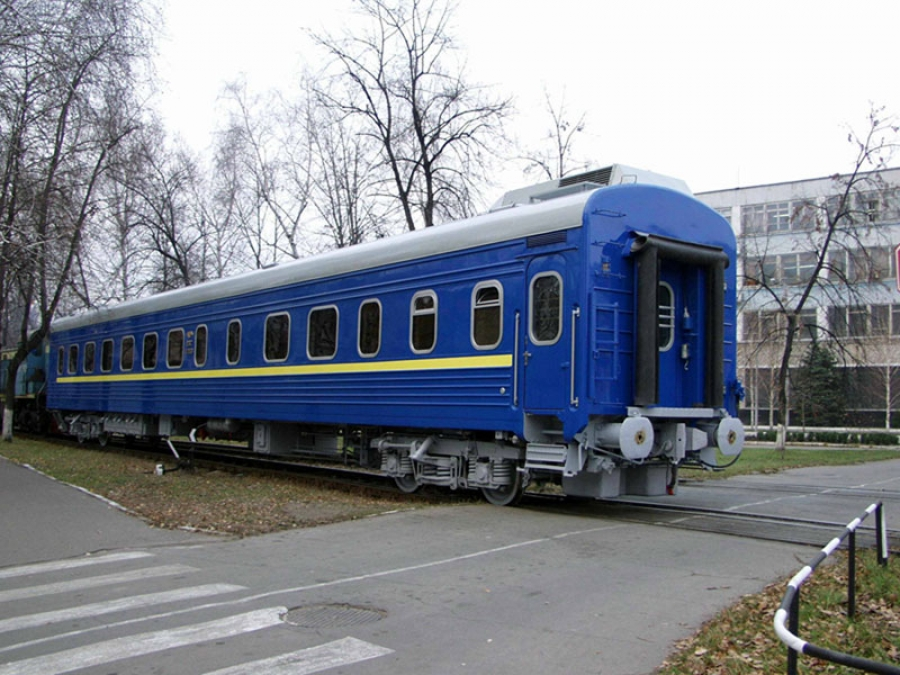 Passenger compartment coach with sitting places and conductor's compartment  mod.61-779V