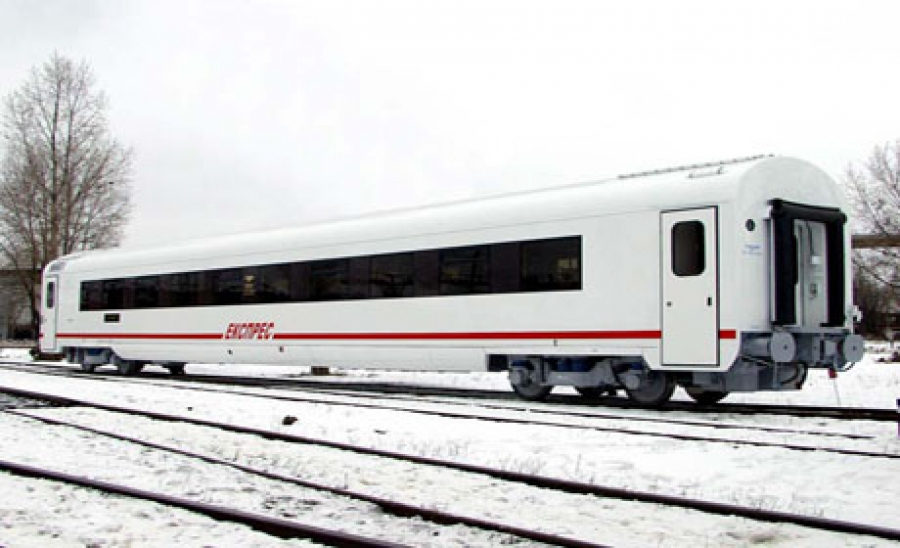 Passenger coach with sitting places mod.61-788