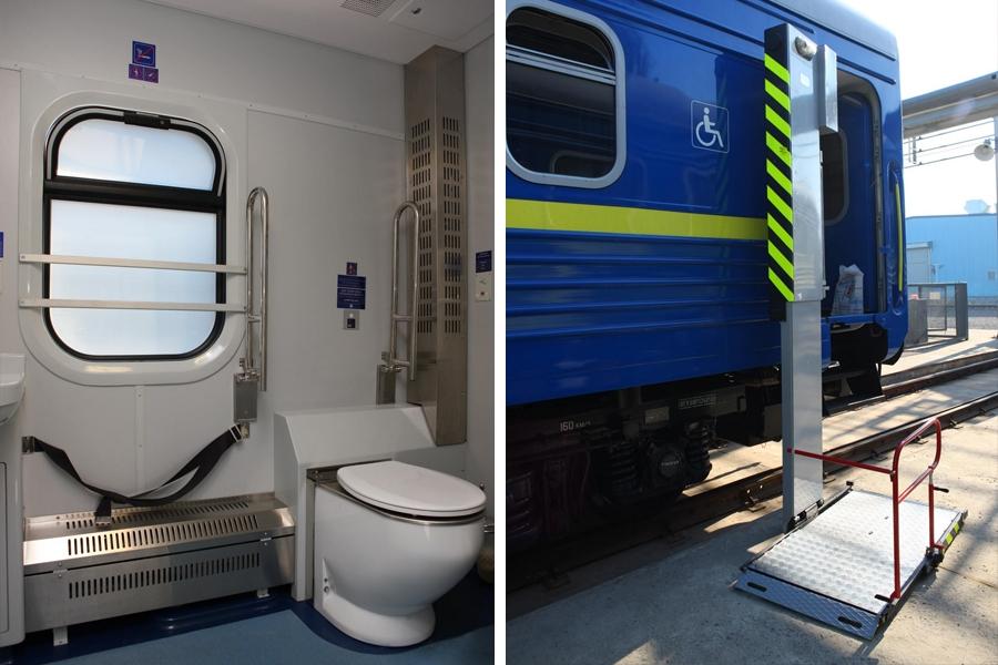 Туалетное помещение для инвалида