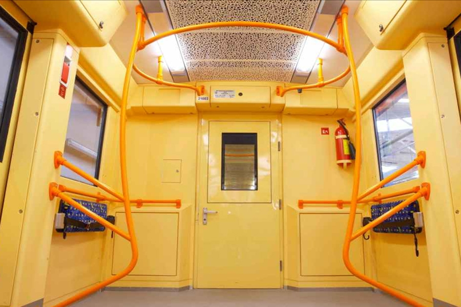 Головной вагон метро мод. 81-7036