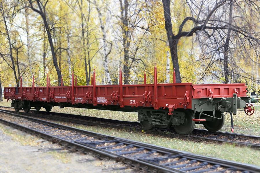 Вагон-платформа модель 13-7043