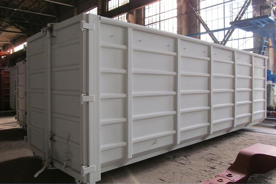 Модель – N117HЕ / Грузоподъемность - 11 800 кг / Объём 38,5 м³