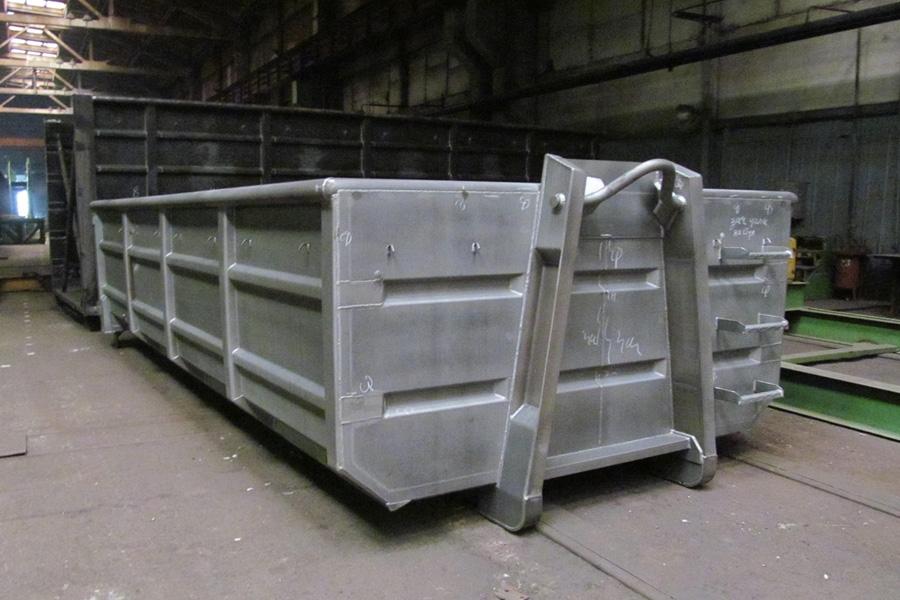 Модель – N45H / Грузоподъемность - 13 050 кг / Объём 15 м³