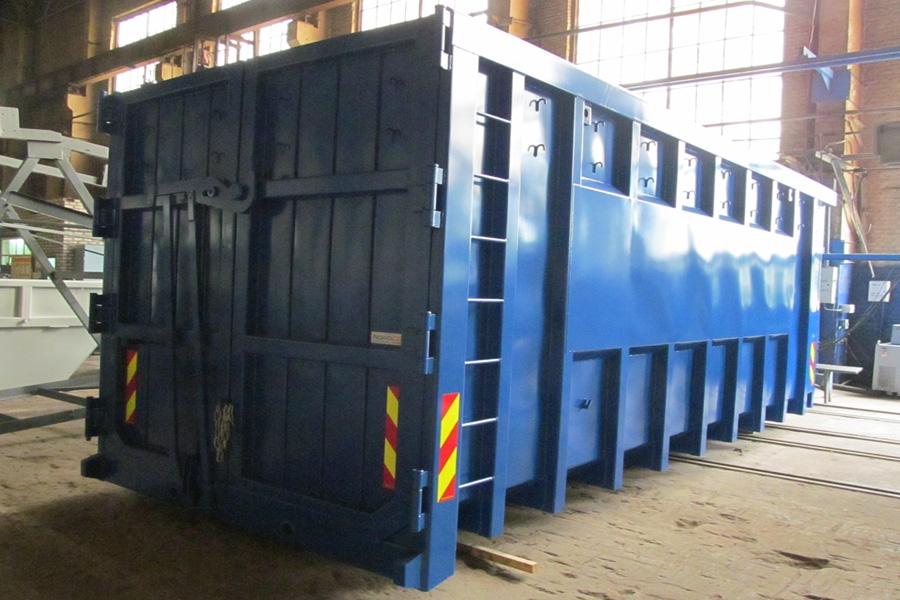 Модель – К-35ЕХ / Грузоподъемность - 11 730 кг / Объём 35 м³