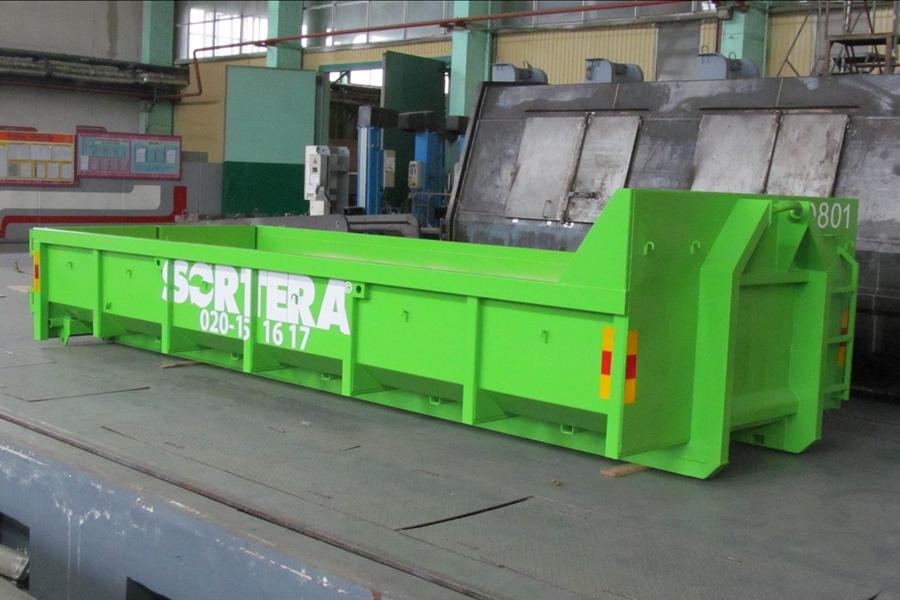 Модель – К-10ЕХ / Грузоподъемность - 13 045 кг / Объём 10 м³