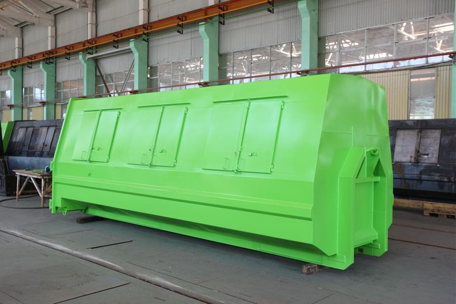 Модель – КL-26 / Грузоподъемность - 3 000 кг / Объём 26 м³