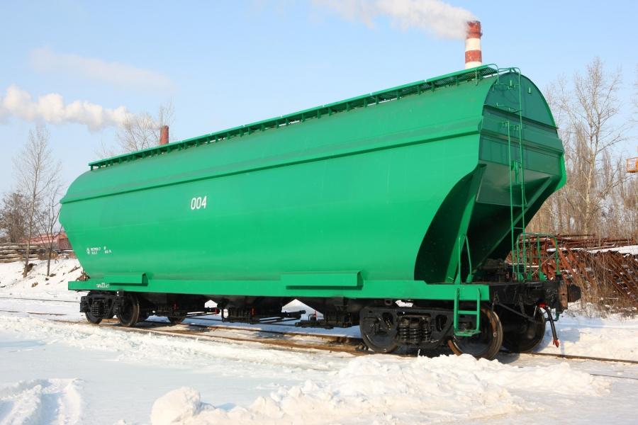 Вагон-хопер для перевезення зерна  модель 19-7053-01