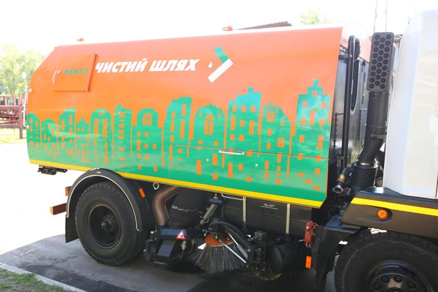 Вакуумная подметально-уборочная машина КВСЗ-4001