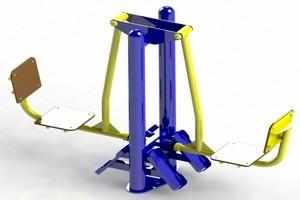 Тренажеры для оборудования открытых спортивных площадок