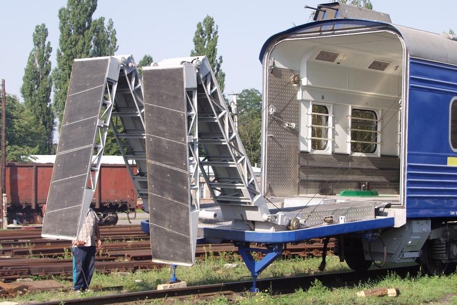 Вагон-гараж модель 61-7014