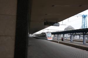 Скоростной электропоезд «Тарпан» ПАО «КВСЗ» доставил в Киев 5-миллионного пассажира (видео)