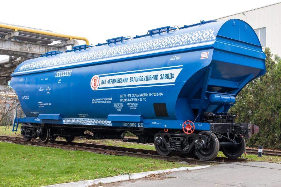 Вагони-хопери для перевезення зерна моделей 19-7053, 19-7053-01, 19-7053-02, 19-7053-03 та 19-7053-04