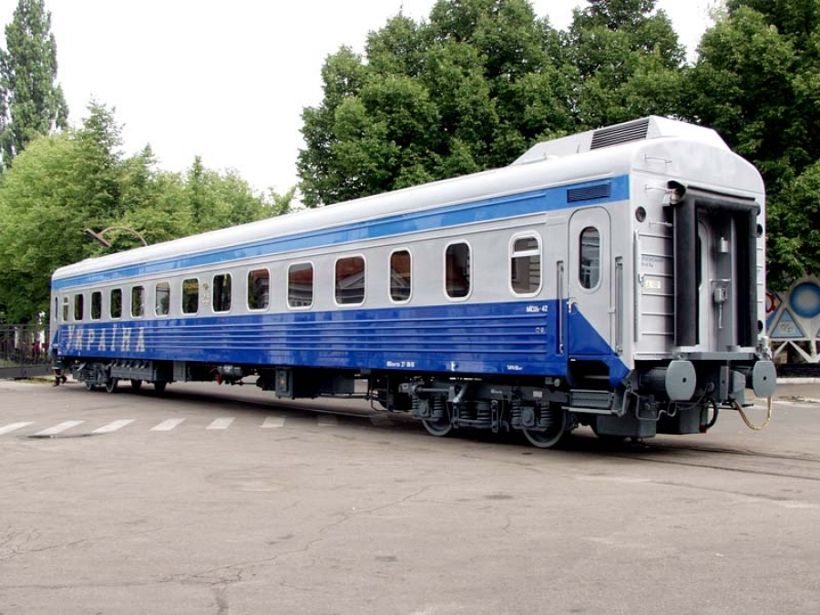 Passenger compartment coach with sitting places model 61-779B