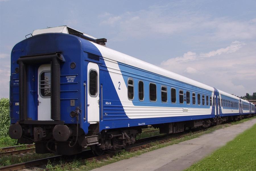 Вагон пассажирский с местами для сидения и баром модель 61-779Е