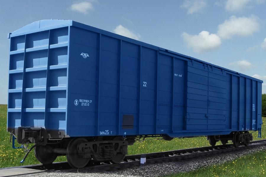 Крытые вагоны мод. 11-7094 и 11-7094-01