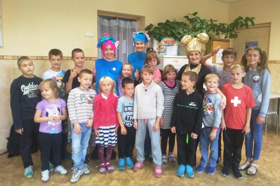 Поздоровлення діток з початком навчального року в ДПНС «Славутич»