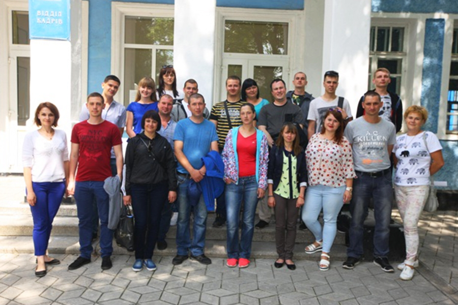 Посвята молоді у працівники ПАТ «КВБЗ»