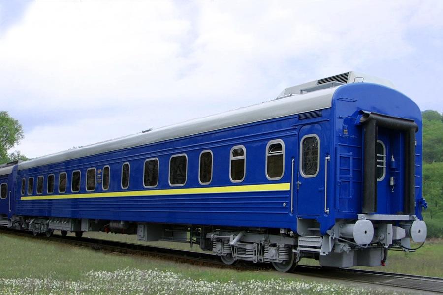 Вагон пасажирський купейний з місцями для сидіння і купе бригадира мод. 61-779В