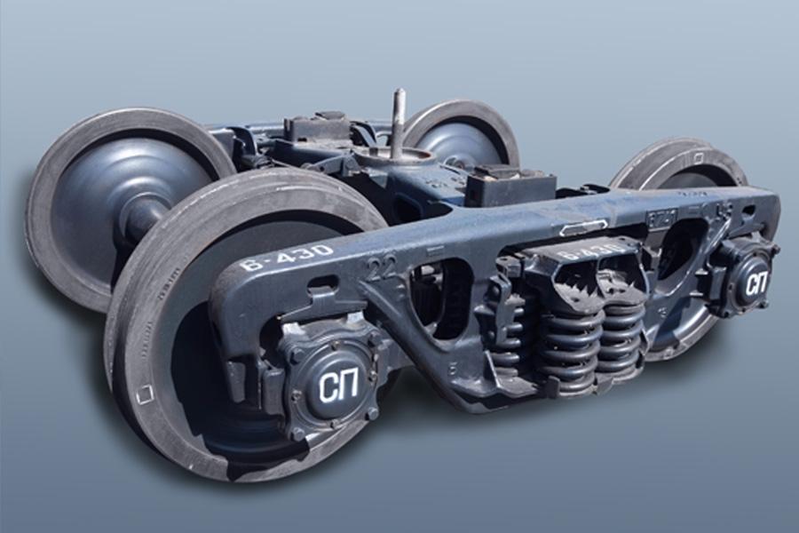 Двухосная тележка модель 18-7055 тип 2