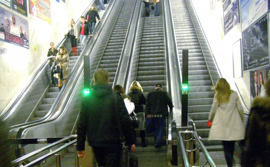 Tunnel escalator ЕТК-445 and ЕТК-465