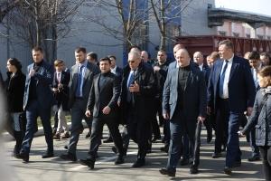 Володимир Зеленський відвідав КВБЗ 06.03.2020