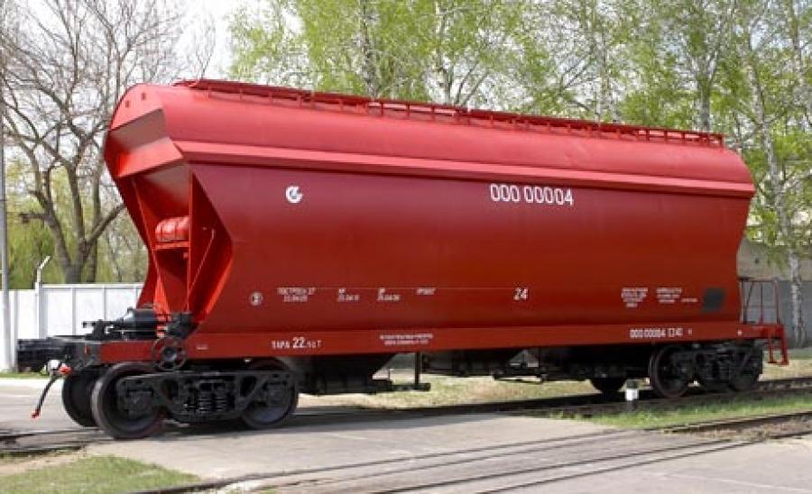 Вагон-хопер для перевезення зерна моделі 19-7017-06