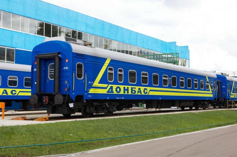 Passenger sleeping coach mod.61-779A
