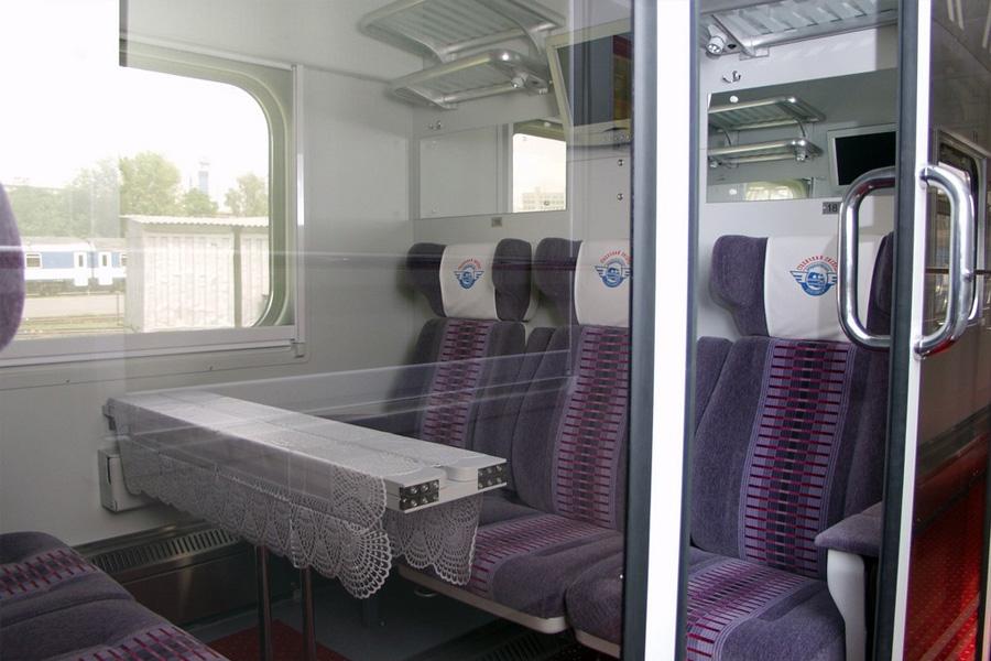 Вагон пасажирський купейний з місцями для сидіння модель 61-779Б