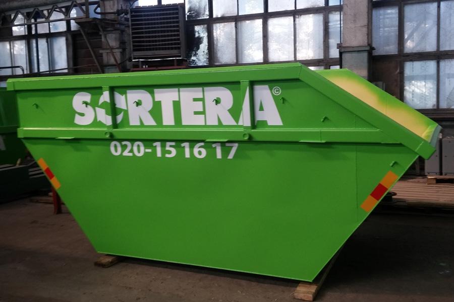 Модель – OL10  / Грузоподъемность - 10 000 кг / Объём 10 м³