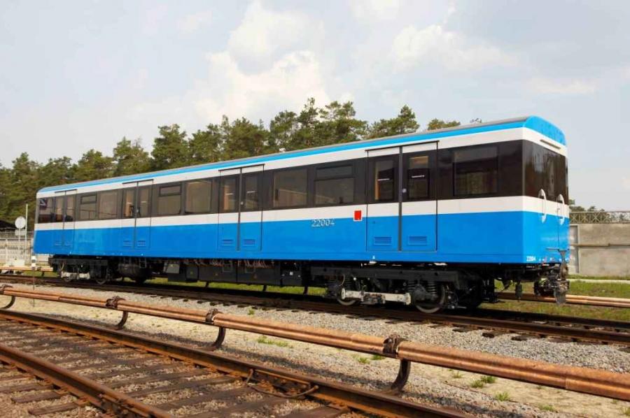 Intermediate metro car mod.81-7022