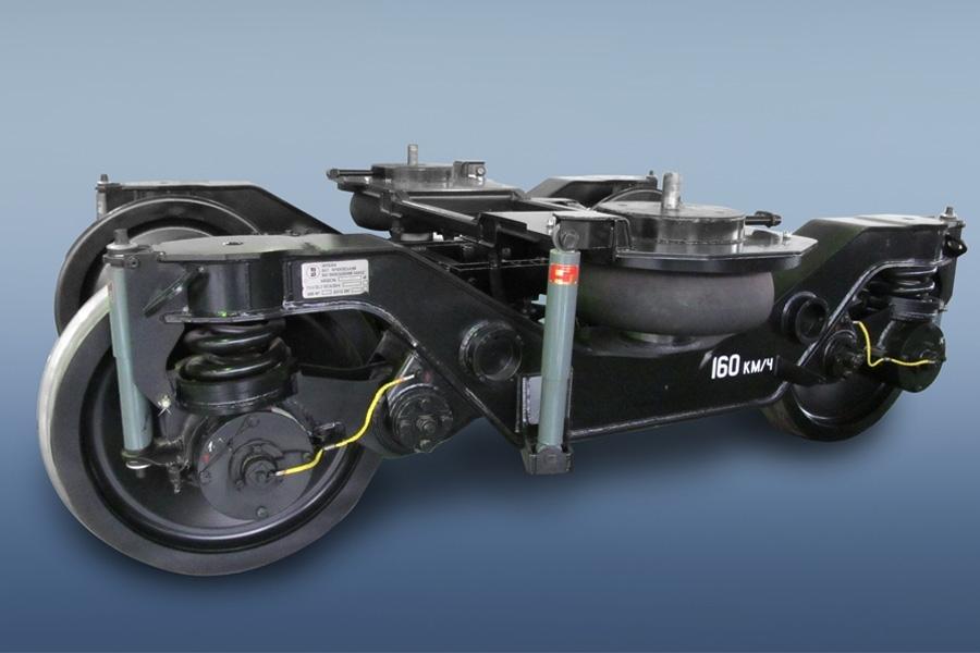 Применяется тележка мод. 68-7041 со скоростным межрегиональным поездом локомотивной тяги постоянного формирования