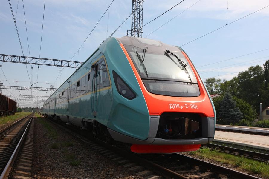 Пасажирський дизель-поїзд ДПКр-2
